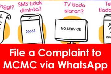 WhatsApp MCMC complaint